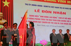 Bình Định: Thị xã Hoài Nhơn đón nhận danh hiệu Anh hùng Lao động