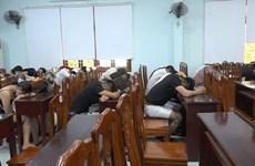 Bình Định: Phát hiện 50 đối tượng sử dụng ma túy trong quán karaoke