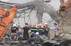 Bắc Ninh: Sập giàn giáo công trình xây dựng, hai công nhân tử vong