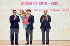 Chủ tịch nước và Thủ tướng Chính phủ dự Lễ bàn giao công việc