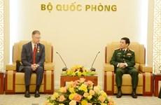 Bộ trưởng Bộ Quốc phòng Phan Văn Giang tiếp Đại sứ Hoa Kỳ