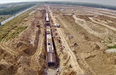 """""""Chạy nước rút"""" xây hạ tầng khu tái định cư sân bay quốc tế Long Thành"""
