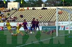 V.League 2021: Sông Lam Nghệ An thất thủ trên sân nhà với tỷ số 0-2