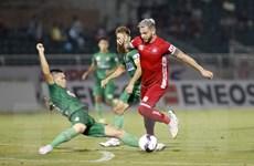 V.League 2021: Sài Gòn FC và Hải Phòng níu chân nhau ở nhóm cuối bảng