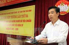 Thái Bình: Chốt danh sách ứng cử đại biểu Quốc hội và HĐND tỉnh