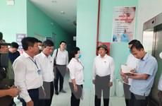 Kiểm tra công tác bầu cử Quốc hội tại tỉnh Bình Dương