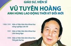 Giáo sư, Viện sỹ Vũ Tuyên Hoàng - Anh hùng Lao động thời kỳ đổi mới