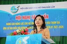 Nâng cao năng lực cho nữ ứng cử viên lần đầu tham gia ứng cử HĐND