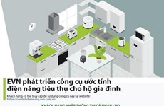 EVN phát triển công cụ có thể ước tính lượng điện tiêu thụ hàng tháng