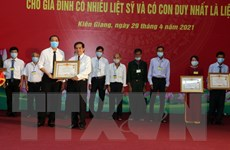 Kiên Giang: Truy tặng danh hiệu Mẹ Việt Nam Anh hùng
