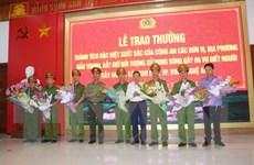 Nghệ An trao thưởng cho các đơn vị bắt kẻ nổ súng bắn chết 2 người