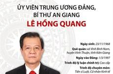 [Infographics] Ủy viên Trung ương Đảng, Bí thư An Giang Lê Hồng Quang