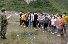 Cao Bằng xử lý 53 người Việt nhập cảnh trái phép từ Trung Quốc về