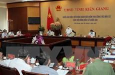 Chủ tịch Ủy ban TW Mặt trận kiểm tra chuẩn bị bầu cử tại Kiên Giang