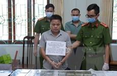 Lai Châu phá án thành công, bắt 2 đối tượng vận chuyển 30 bánh heroin