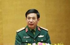 Hội đàm trực tuyến giữa Bộ trưởng Quốc phòng Việt Nam và Lào