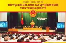 Quốc hội XII: Tiếp tục đổi mới, nâng cao vị thế trên trường quốc tế