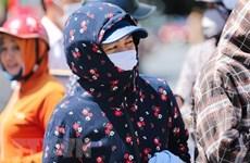 Chỉ số tia cực tím ở Hà Nội giữ ở mức cao do cường độ nắng ổn định