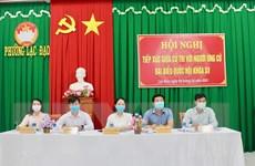 Bình Thuận: Các ứng cử viên đại biểu Quốc hội tiếp xúc cử tri