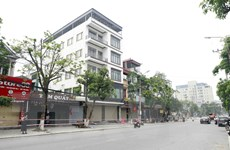 [Photo] Vĩnh Phúc: Cách ly xã hội toàn thành phố Vĩnh Yên