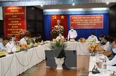 PTT Trương Hòa Bình kiểm tra công tác phòng, chống dịch tại Tây Ninh