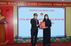 Ông Phạm Tất Thắng giữ chức Phó Trưởng ban Ban Dân vận Trung ương