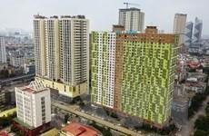 [Photo] Phong tỏa 2 chung cư ở quận Hà Đông liên quan đến BN3634
