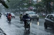 Từ 19-28/5, các khu vực ngày nắng, chiều tối và đêm có mưa và dông