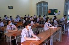 Thanh Hóa: Học sinh lớp 9, 12 không rời địa phương trước kỳ thi tới