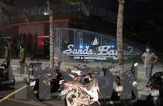 Phú Yên: Một vụ cháy lớn đã xảy ra tại quán bar Sands Bay