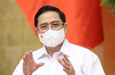 Thủ tướng: Phải đẩy lùi dịch COVID-19 tại hai tỉnh Bắc Giang, Bắc Ninh