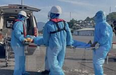 Khẩn cấp cứu nạn một thuyền viên trên tàu cá Bình Định
