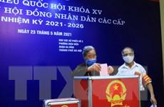 Đa số địa phương hoàn thành công bố kết quả bầu cử đại biểu HĐND