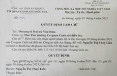An Giang: Tạm giữ 7 đối tượng liên quan đến đường dây cờ bạc lớn