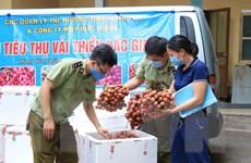 Tỉnh Hưng Yên triển khai tiêu thụ vải thiều của Bắc Giang