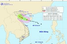 Bão số 2 vào Vịnh Bắc Bộ, gió giật cấp 9-10, mưa to từ Thanh Hóa-Huế
