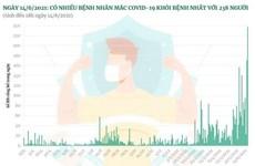 238 ca mắc COVID-19 được công bố khỏi bệnh trong ngày 14/6