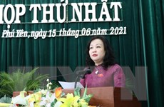 Bà Cao Thị Hòa An được bầu làm Chủ tịch HĐND tỉnh Phú Yên