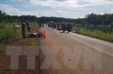 Bình Phước: 2 xe máy tông trực diện, 2 người thương vong