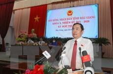 Phó Chủ tịch QH Trần Thanh Mẫn dự kỳ họp thứ nhất HĐND tỉnh Hậu Giang