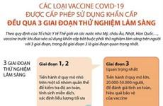 Vaccine được cấp phép sử dụng khẩn cấp phải qua thử nghiệm 3 giai đoạn