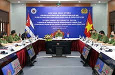 Bộ trưởng Bộ Công an Tô Lâm hội đàm Bộ trưởng Bộ Nội vụ Cuba