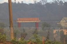 Thừa Thiên-Huế: Khống chế đám cháy rừng gần Trạm Kiểm định đạn dược
