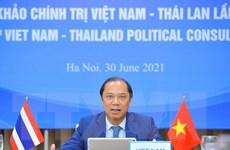 Tham khảo chính trị cấp Thứ trưởng Ngoại giao Việt Nam-Thái Lan lần 8