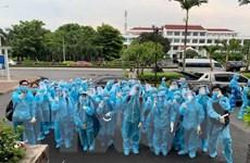 Sinh viên Cần Thơ chi viện tỉnh Đồng Tháp chống dịch COVID-19