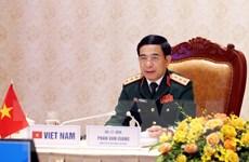 Điện đàm trực tuyến Bộ trưởng Bộ Quốc phòng Việt Nam-Ấn Độ