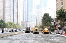 Đạt 90% tổng giá trị xây lắp tại dự án chống ngập 10.000 tỷ đồng