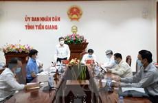 Tổ công tác của Bộ Y tế đến Tiền Giang hỗ trợ phòng, chống dịch