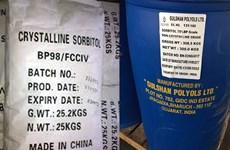 Áp dụng chống bán phá giá tạm thời với sản phẩm sorbitol