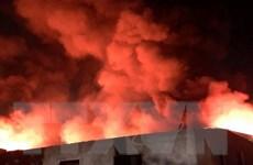Hà Nội: Điều tra nguyên nhân vụ cháy lớn tại huyện Thanh Trì